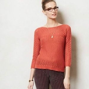 Anthropologie Sparrow Bellevue Merino Sweater